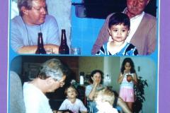 Fiorelo e Ilda com os netos Filipe, Priscila, Deborah e Fabrício