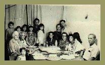 Familia Vidal com Mamy e Dady