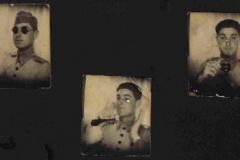 Fiorelo Stona em 1939 no Exército