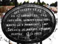 Lápide de Cattarina Lazzari