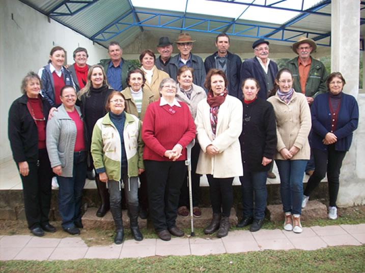 Equipe organizadora do 1º Encontro reunida em 25/06/2016.